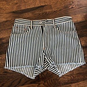 Rag And Bone striped skirts high waisted